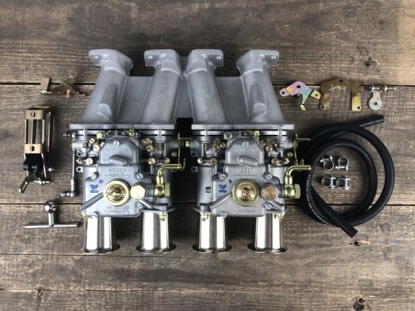 WEBER 45 DCOE 152 Vergaser für VW Golf 1.8/2.0 8V Doppelvergaseranlage Crossflow