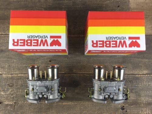 Satz (2x) 44 IDF 71 Weber Vergaser Doppelvergaser VW Käfer Porsche 356 912 914