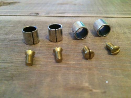 Solex Vergaser 34 PICT-3 Buchse Spannhülse für Drosselklappenwelle u Schrauben