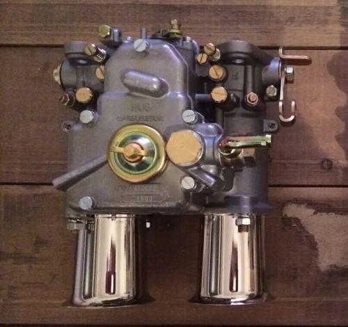 45 DCOE Doppelvergaser mit Einlauftrichter FAJS BMW Fiat Alfa Romeo Lancia