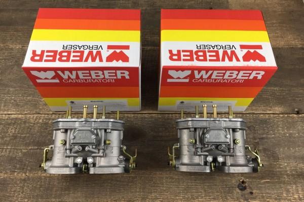 Satz (2x) 40 IDF 70 Weber Vergaser Doppelvergaser VW Käfer Typ 1 Porsche 356 912