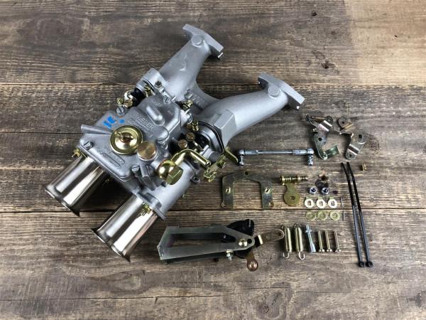 WEBER 45 DCOE für MG Midget Austin Healey Sprite 1275 ccm Doppelvergaseranlage