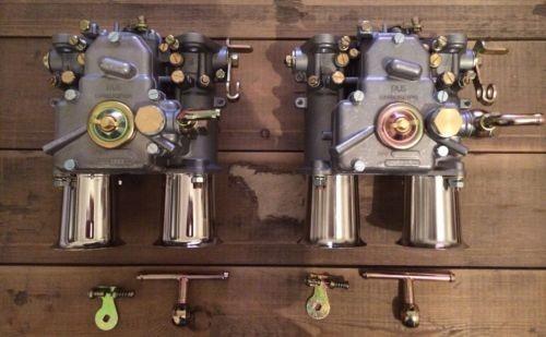 50 DCO DCOE Doppelvergaser Rennvergaser mit Einlauftrichter FAJS Vergaser