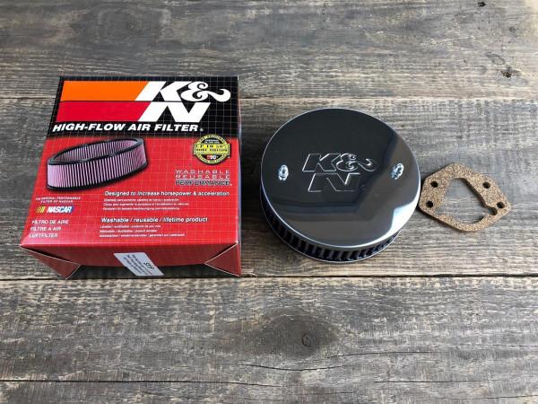 K&N SET Stromberg 175 CD Komplettset 2x Luftfilter 45mm + Reiniger + Spezial-Öl für Vergaser