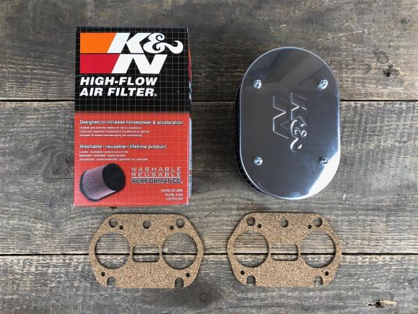 K&N Luftfilter 63mm WEBER IDF 40 44 48