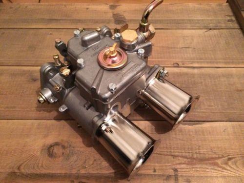 FAJS 48 DCOE Doppelvergaser Typ Weber mit Einlauftrichter