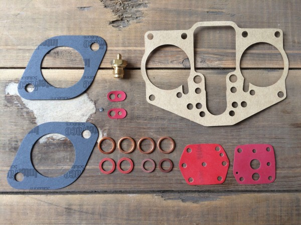 Solex 40 PII Vergaserdichtsatz, Reparatur Kit, Repair Kit, Porsche 356 Carrera