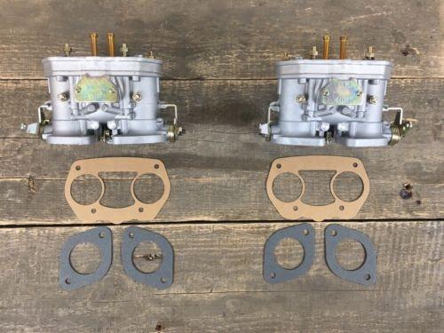 Satz (2x) 44 IDF Vergaser FAJS Doppelvergaser VW Käfer Porsche 356 912