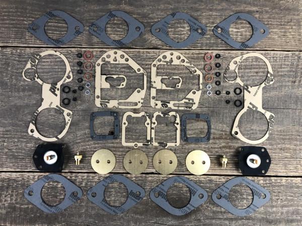 XL Premium Dichtsatz SOLEX 2x 40 ADDHE 37 FIAT Ritmo 130 TC 1995 ccm repair kit