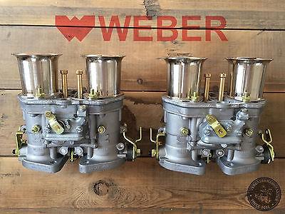 Satz (2x) 48 IDF 7 Weber Vergaser Doppelvergaser VW Käfer Porsche 356 912 Tuning