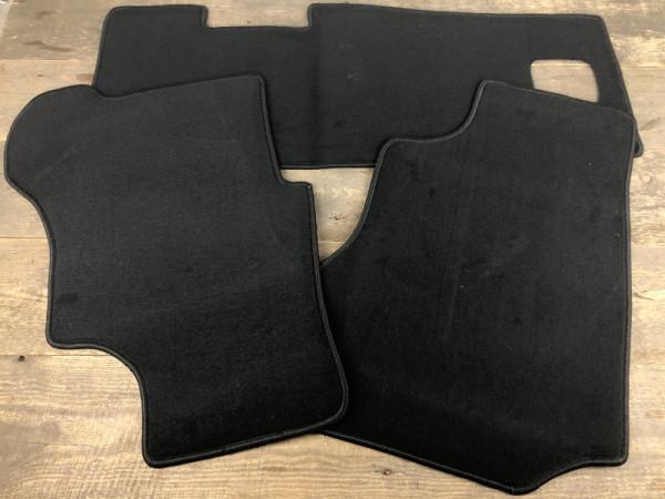 Satz Fußmatten Textil vorne 3x schwarz VW T3