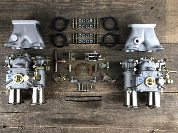 WEBER 45 DCOE 152G für OPEL CIH 2.2-2.4l Doppelvergaseranlage