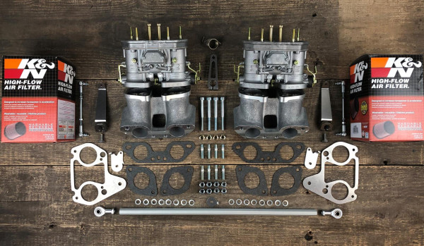 WEBER 40 IDF Doppelvergaseranlage Vergaser für VW Bus T2 T3 Typ 4 CU CJ