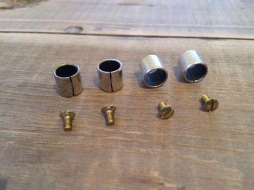 Solex Vergaser 31 PICT-3 Buchse Spannhülse für Drosselklappenwelle u Schrauben