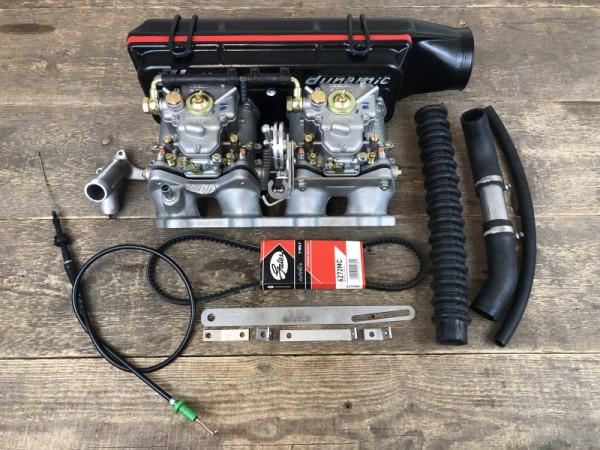 WEBER 2x 45 DCOE 152 Vergaser VW Golf Jetta 19E 16V KR Doppelvergaseranlage