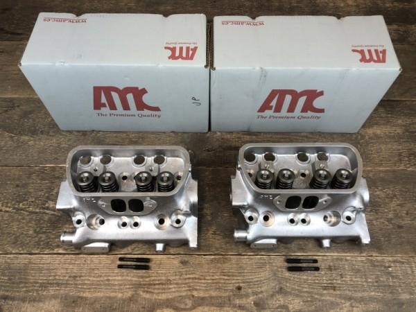 AMC 2x Premium Zylinderkopf mit Ventile 40/31,2 mm VW Bus T3 2.1L DJ MV SS SR