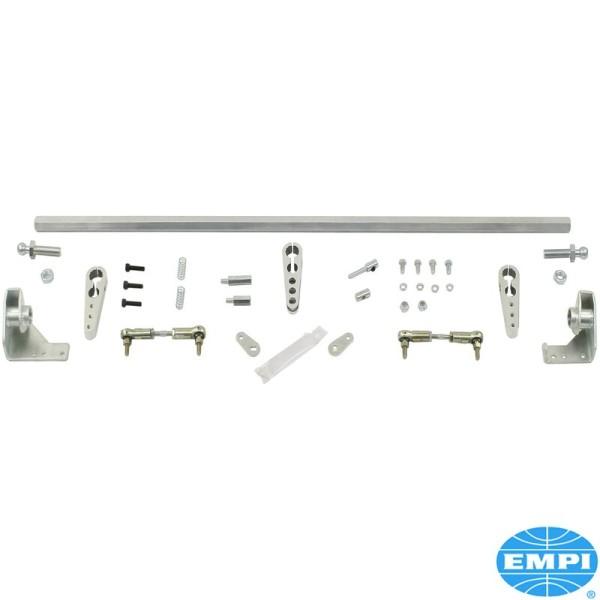 Gasgestänge Crossbar Doppelvergaser für Weber 34 ICT EMPI 34 EPC VW Typ 3